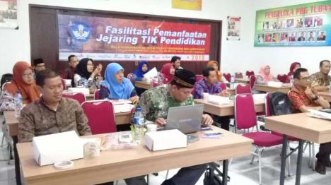 Fasilitasi Pemanfaatan Jejaring TIK Pendidikan di Kabupaten Tuban